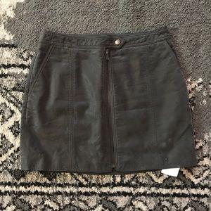 Nordstrop front zipper skirt